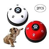 pengxiaomei 2 Pcs Pet Training Bells Set, Stainless Dog Training Bells for Potty Training and Communication Device