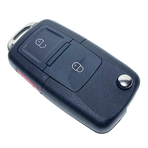 Uniqkey EURO Style All in One Flip key remote Replacement for 4RUNNER HYQ12BBY chip-G Keyless Entry Control Fob Clicker switchblade Transmitter transponder RFID