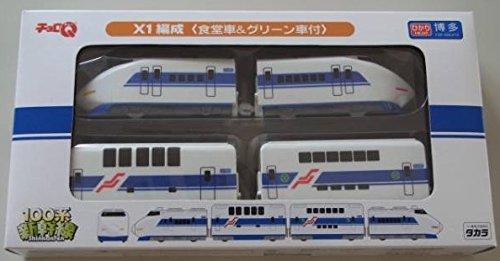 チョロQ 100系新幹線 X1編成 4両セット(ホワイト×ブルー)