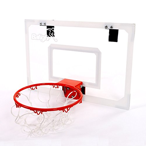 Pro Mini Basketball Hoop W/ Ball Shatterproof Backboard Toys Indoor Sports Game