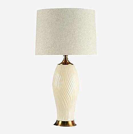 Grandes cerámica lámpara de mesa - Salón Lámpara de mesa ...