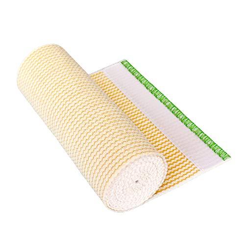 GT Cotton Elastic Bandage Roll w/Hook & Loop Closure On Both Ends (6