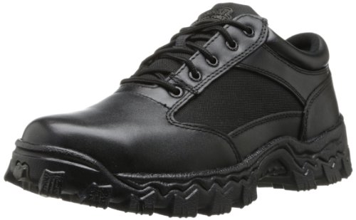 Rocky Alphaforce Boots (Rocky Men's Alpha Force Oxford Work Boot,Black,7 W US)