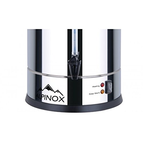 Percolateur Professionnel /à Caf/é 7 L avec filtre permanent pour 48 Tasses AROMA