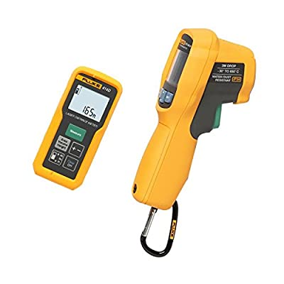 Fluke FLUKE-414D/62MAX+ 414D Laser Distance Meter with IR Thermometer
