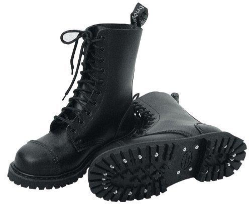 Knightsbridge 10 holes Ranger Boots black - falls normal of - Size 41