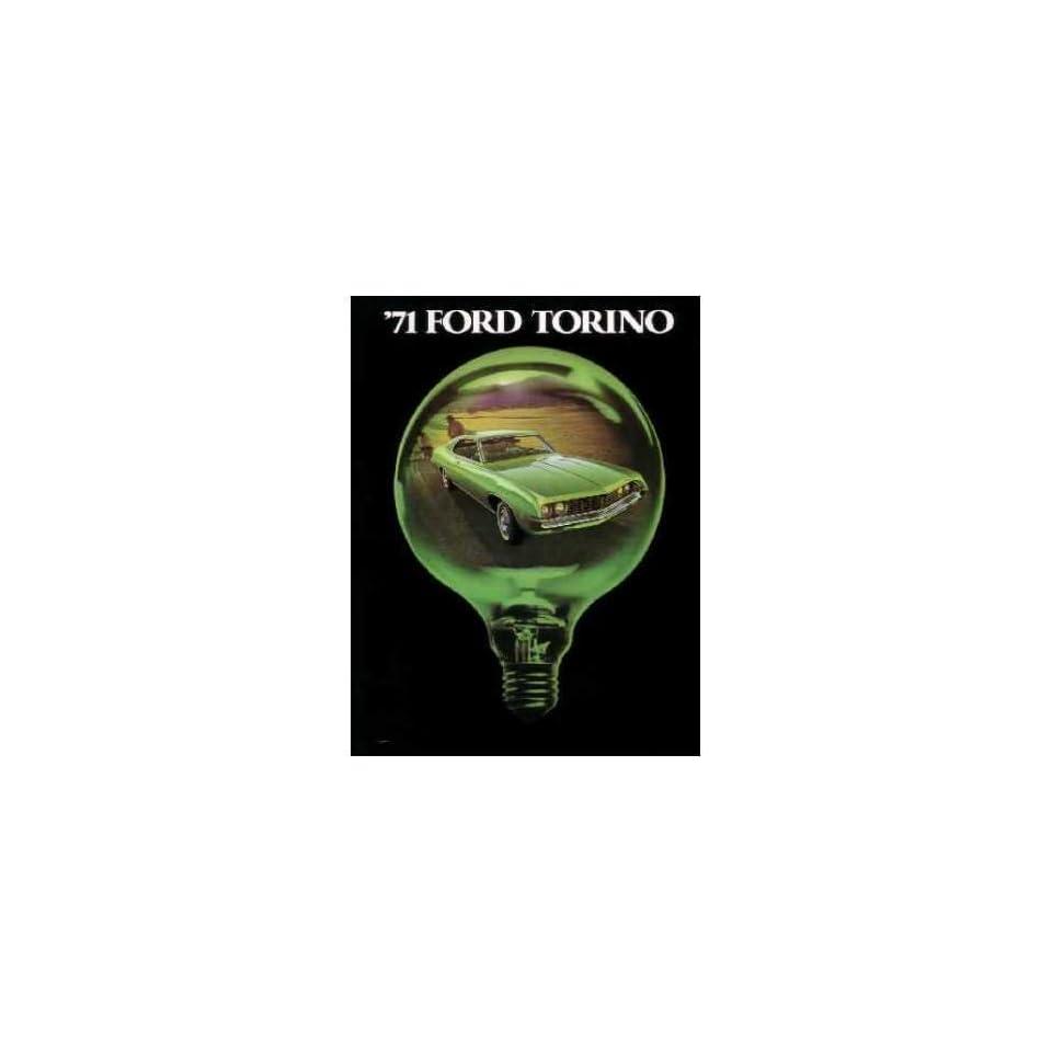 1971 Ford Torino Sales Literature Piece Brochure Advertisement Options