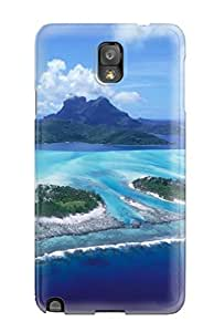 Premium SChxsAi12931gjFYT Case With Scratch-resistant/ Seascape Case Cover For Galaxy Note 3