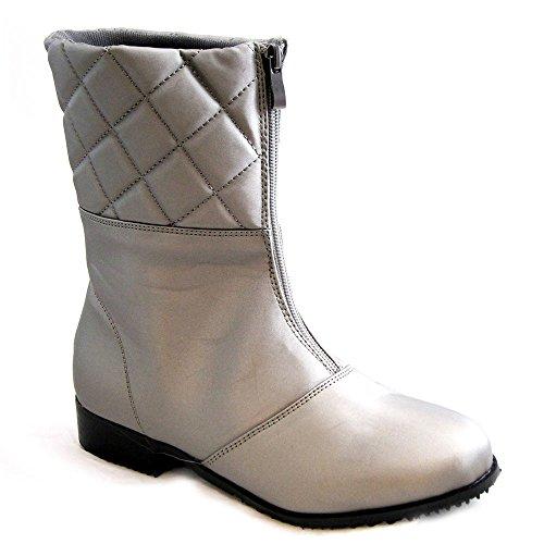 Beacon Skor Kvinna Quebec Boot, Grå Vylon, Oss 6,5 W