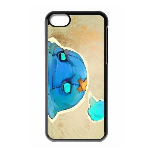 Bastion 10 coque iPhone 5c cellulaire cas coque de téléphone cas téléphone cellulaire noir couvercle EOKXLLNCD26856