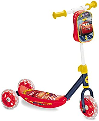 Disney Cars Patinete 3 Ruedas con Bolsa Cars 3, 10