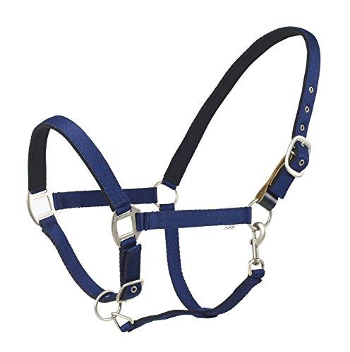 Horse Halter Sizes (Centaur Cushion Web Breakaway Halter - Size:Horse Color:Navy)