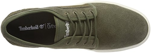 Timberland Dauset, Scarpe Stringate Oxford Uomo Verde (Grape Leaf Suede A58)
