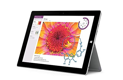 Microsoft Surface 3 Tablet (10.8-inch FHD (1920x1280), 4GB RAM, 64GB SSD, Intel Atom 1.6Ghz, Windows 10 Professional 64 Bit)