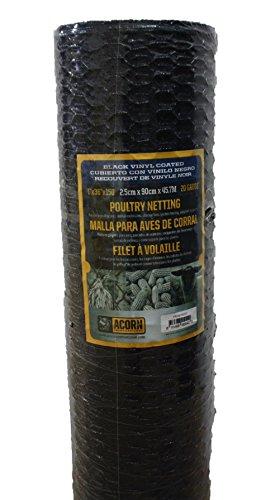 Acorn International PNVC136150 Vinyl Coated Poultry Netting, 1