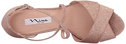 Nina Women's Marylyn Dress Sandal Platino buy cheap exclusive cheap looking for for cheap for sale authentic sale online for nice sale online VkNvS
