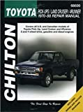 img - for Toyota Pick-ups, Land Cruiser, and 4-Runner, 1970-88 (Chilton's Total Car Care Repair Manuals) [Paperback] [1994] 1 Ed. Chilton book / textbook / text book