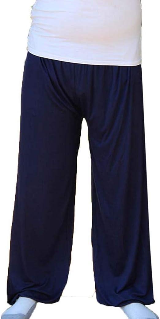 Pantalones De Pijama Largos para Hombre Casual Ropa de Dormir Suave Comodo Talla Grande