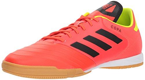 sale retailer aa2b2 6dd8c adidas Mens Copa Tango 18.3 Indoor Soccer Shoe, Solar RedBlackSolar  Yellow