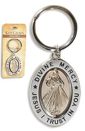 Amazon.com: Divine Mercy - Llavero giratorio, 6 unidades ...
