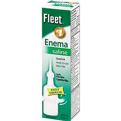 Fleet Enema, Adult-Packaging 4.5 fl oz Squeeze Bottle - C...
