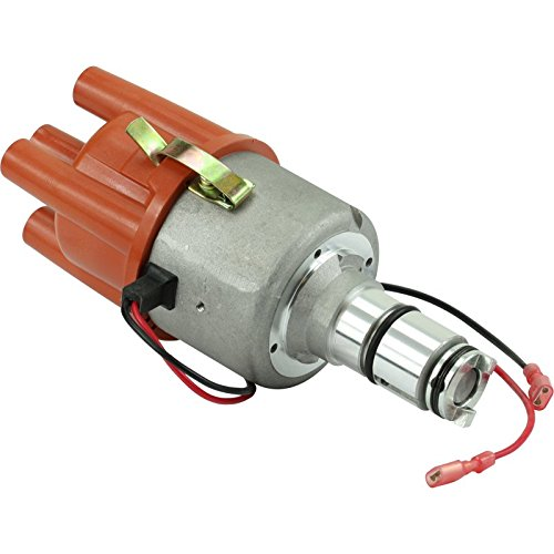 (Dragon Fire High Performance Race Series Complete Electronic Ignition Distributor Compatible Replacement For 1960-1984 Porsche and Volkswagen VW With Bosch 009 With Out Vacuum Oem Fit D009E-DF)
