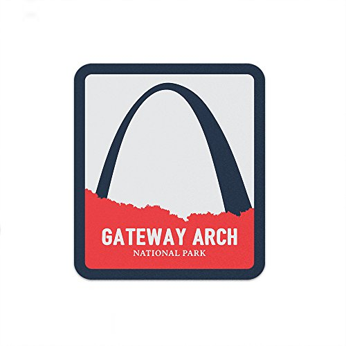 Gateway Arch National Park Sticker | National Park Decal ()
