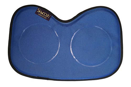 Skwoosh Row Pad Seat Cushion for Masters, Students, Scullers, Dragonboat, Outriggers, Accessories | Fits Concept2 | Gel Pressure Sitz Bone Comfort Relief | Made in USA (Royal Blue)