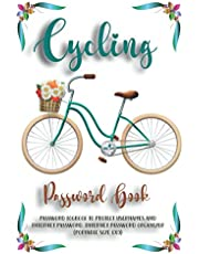 Cycling Password book: Password Logbook to Protect Usernames and Internet Password. Internet Password Organizer. (Portable Size 6x9)
