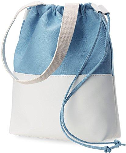 Unbekannt  1222, Cabas pour femme bleu bleu Grand modèle