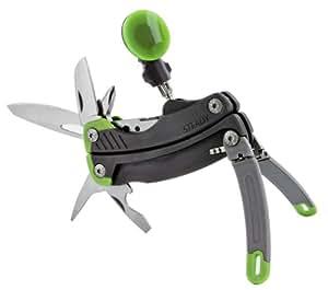 Gerber 30-000419 De tamaño completo 12tools Negro, Verde, Metálico alicate multiherramienta - Alicates de múltiples herramientas (Acero inoxidable, Negro, Verde, Metálico, 15,2 cm, 164 g)