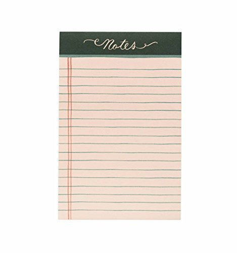 Rifle Paper Co Notepad Rose Lined Notes by Plus Rifle Paper Co.