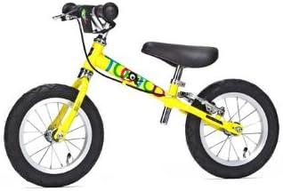 Bicicleta sin pedales Yedoo Too Too C Amarilla: Amazon.es ...