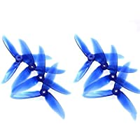 4 Pairs Dalprop Cyclone T5046C 5046 5x4.6 CW CCW Propeller for RC Drone FPV Racing-Crystal Blue