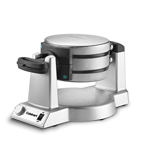 Cuisinart WAF-F20 Double Belgian Waffle Maker, Stainless Steel - smallkitchenideas.us
