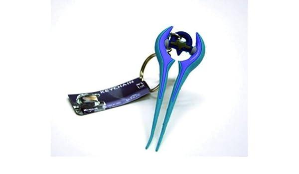 Halo 3: Energía espada de goma PVC Llavero: Amazon.es: Ropa ...