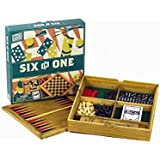 Professor Puzzle Wooden Games Workshop Six in One