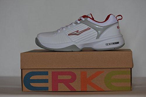 E Erke Shoes Tennis Rosso Bianco Uomo Grigio qqXrf