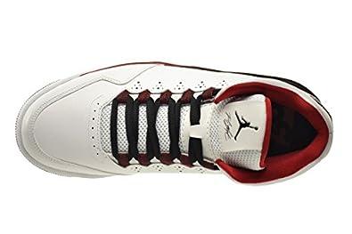 separation shoes fa37e e18a9 Jordan Flight Origin 2 Men s Shoes White White-Black-Gym Red 705155-101  (7.5 D(M) US)  Amazon.ca  Shoes   Handbags