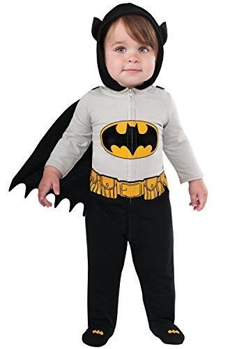 Rubie's Costume Baby's DC Comics Superhero Style Baby Batman Costume, Multi, 6-12 Months - Robin Costumes For Baby