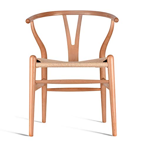 Solid Wood Dining Chair Wishbone Chair Rattan Armchair Y Chair