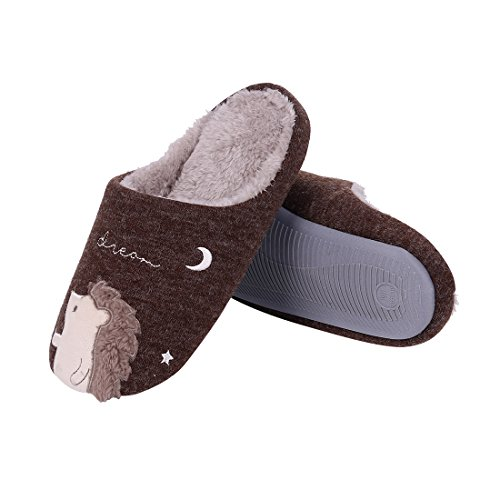 Cute Family House Slippers Dog Cat Hedgehog Penguin Animal Indoor ...
