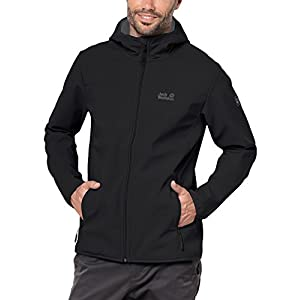 Jack Wolfskin Men's Northern Pt. Jacket, Black, Large