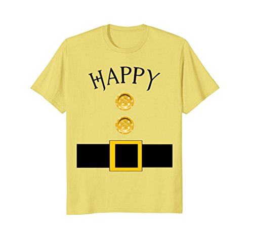 Mens Cute Happy Halloween Group Costume T Shirt | Team Tees 2XL Lemon