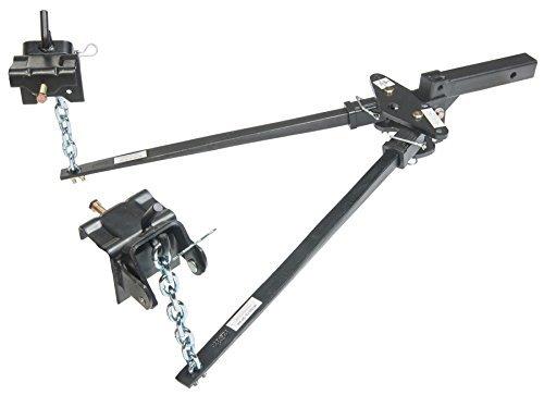 Husky 31330 Lightweight Pin Trunnion Bar Weight Distribution Hitch - 500 lb. Tongue Weight (Trunnion Weight)