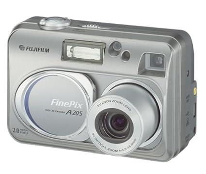 amazon com fujifilm finepix a205 2mp digital camera w 3x optical rh amazon com Fuji FinePix 2650 Digital Camera Best Fuji Camera FinePix