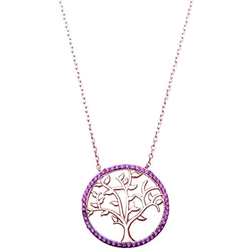 Blue Apple Co. Tree of Life Pendant 18
