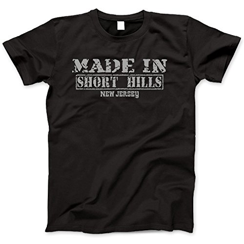 Hometown Made In Short Hills, New Jersey Retro Vintage Style - Jersey New Short Hill