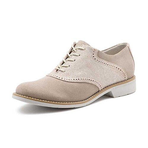 discount good selling G.H. Bass & Co. Women's Dora School Uniform Shoe Soft Grey/Silver outlet deals low shipping fee cheap price oP3XeR