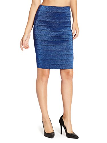 G-by-GUESS-Womens-Varina-Bandage-Midi-Skirt